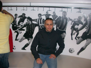 Internazionale locker room
